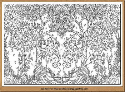 Free Nature Coloring Pages For Adults