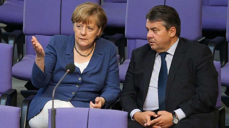 Griechenland-Krise: Warum ist Sigmar Gabriel härter als Merkel? http://www.bild.de/politik/ausland/sigmar-gabriel/warum-ist-er-haerter-als-merkel-41682230.bild.html