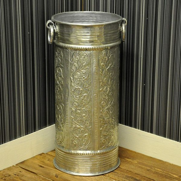 Brass Umbrella Stand Embossed: 17 Best Images About Umbrella Stands & Ceramics On