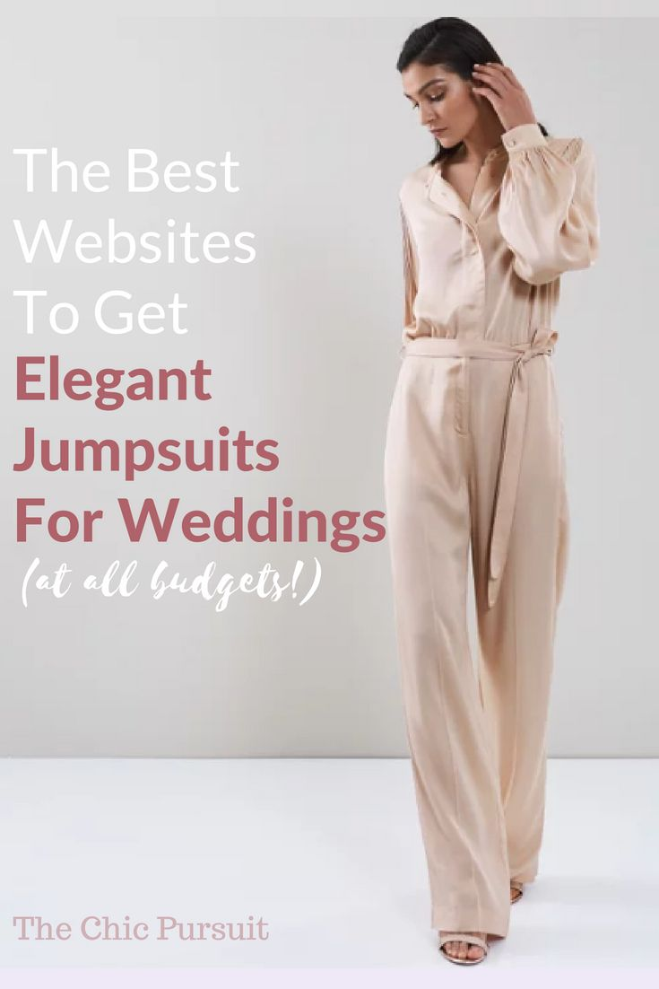 f76e842bec 10 Websites To Get Classy Jumpsuits For Weddings (For All Budgets ...