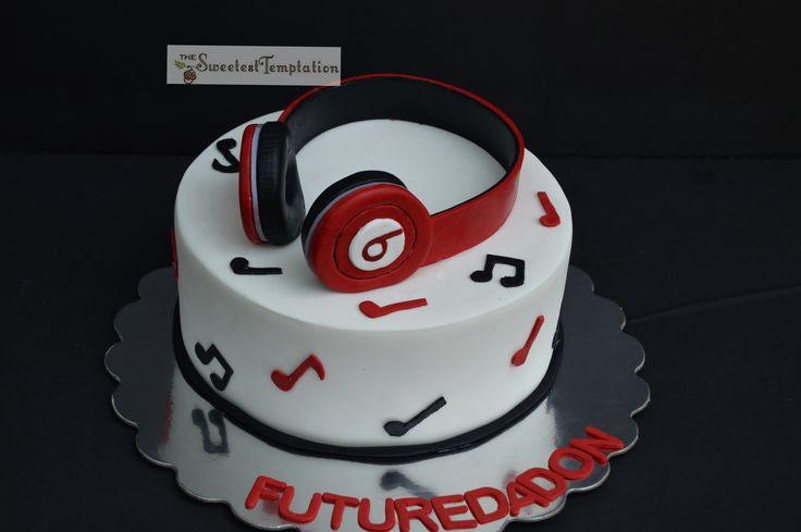 Beats By Dre Headphones Cake Cake Ideas Pinterest