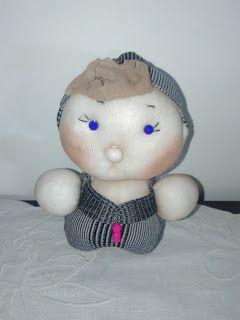 La Borseria by Giusi: Bamboline fatte con le calze di nylon