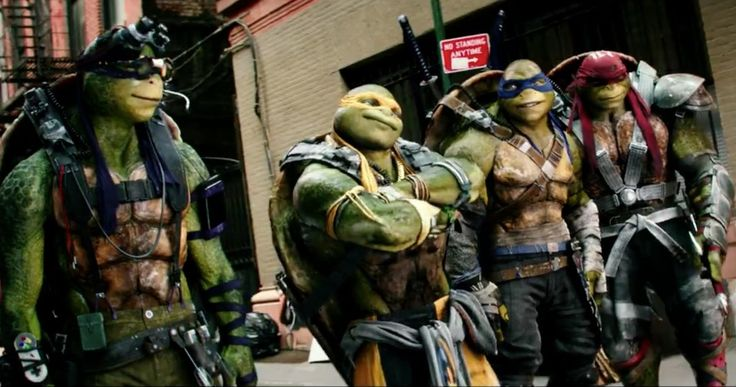 'Teenage Mutant Ninja Turtles 2' Super Bowl Teaser Promises Something Big -- April O'Neil, Casey Jones and The Turtles watch as something huge appears over New York City in a teaser for this Sunday's 'TMNT 2' Super Bowl trailer. -- http://movieweb.com/teenage-mutant-ninja-turtles-2-super-bowl-teaser/