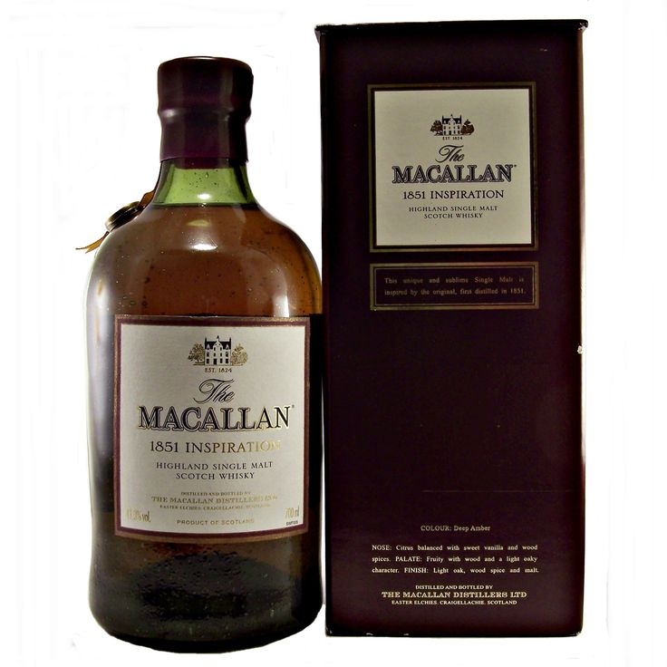 Macallan 1851 Inspiration Single Malt Whisky available to buy online at specialist whisky shop whiskys.co.uk Stamford Bridge York