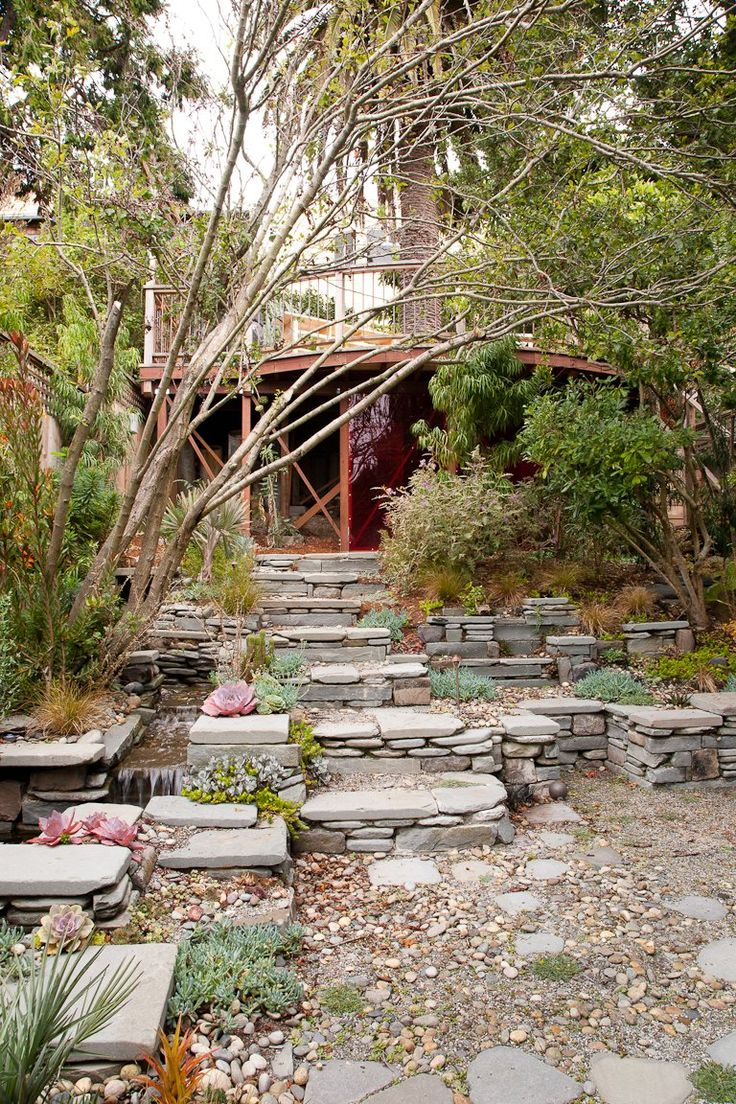 54 best images about rockscape ideas for the front yard on pinterest
