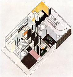 Villa studio per un artista Figini e Pollini