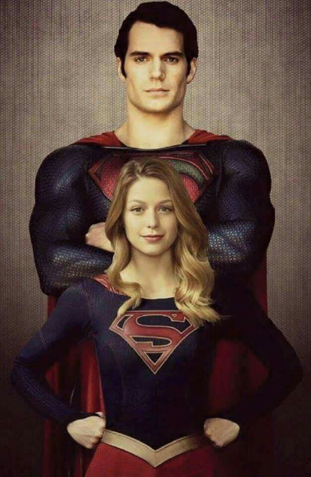 SPOILER ALERT SPOILER ALERT: Superman and Supergirl are cousins!!
