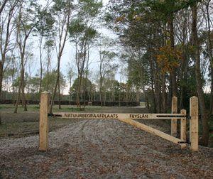 Natural burial site Fryslan near eerenveen, design by Vollmer & Partners