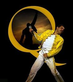 The legendary Freddie Mercury