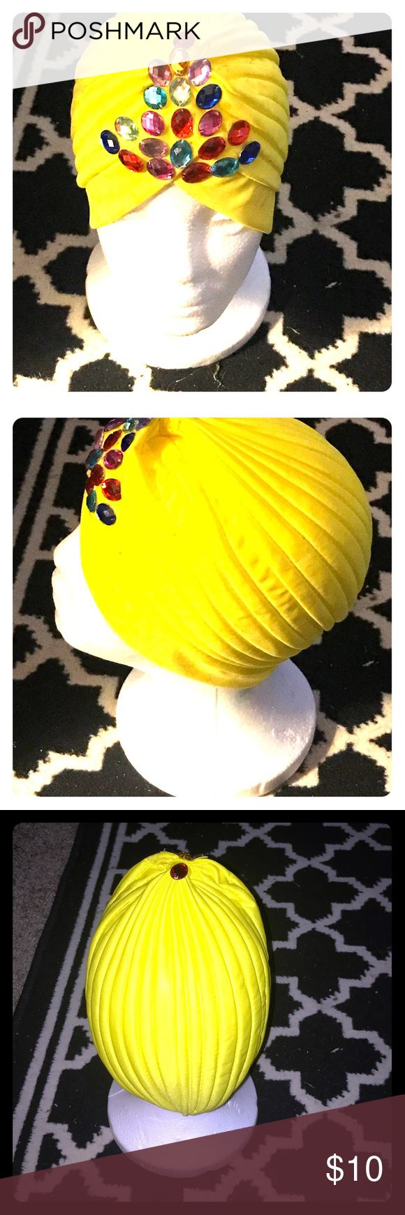 """"""" The Urban Vintage Turban"""" Fashion is always at the forefront of a posher's life and so is a good hair day! This turban creates that vintage, trendy look but it BULLETPROOFS a bad hair day any day! Can be worn in any season and machine washable! Accessories Scarves & Wraps"""