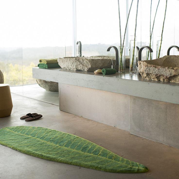 Les 25 meilleures idées de la catégorie Tapis de bain feuille sur ...