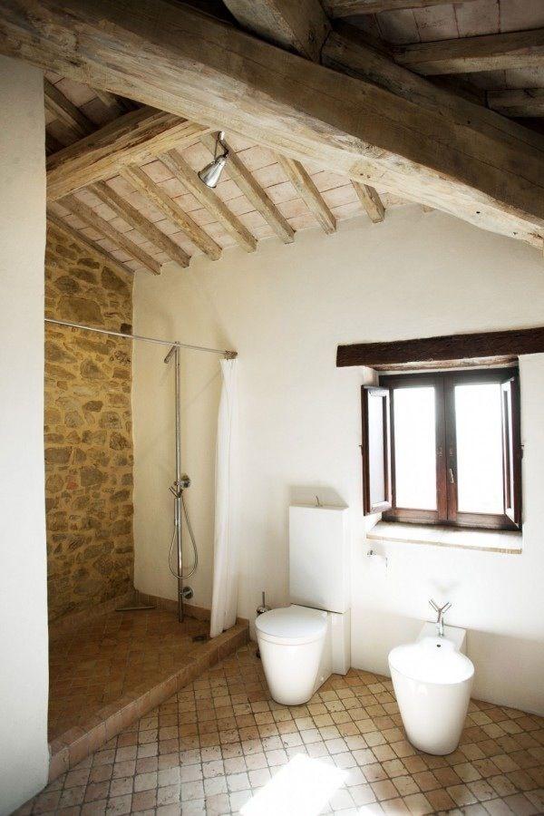 Bonito   Cuartos de baños pequeños, Casa ibicenca ...