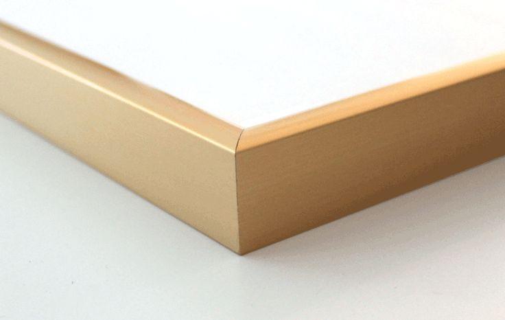 Matte Gold Frame  - Available at www.bomedo.com