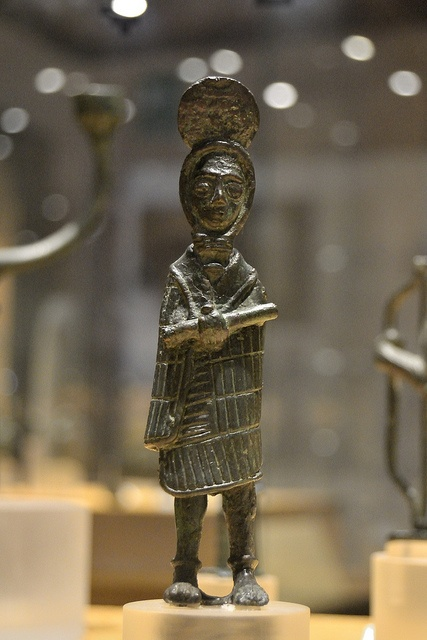 Nuragic votive figurines - Priest in ceremonial dress Bronzes of the Nuragic age National Archeological Museum - Cagliari