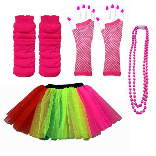 Great for a tween's 80's costume theme (with a top included, of course!)