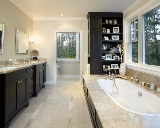 Master Bathroom Dark Cabinets 40 best bathrooms images on pinterest | bathroom ideas, dream