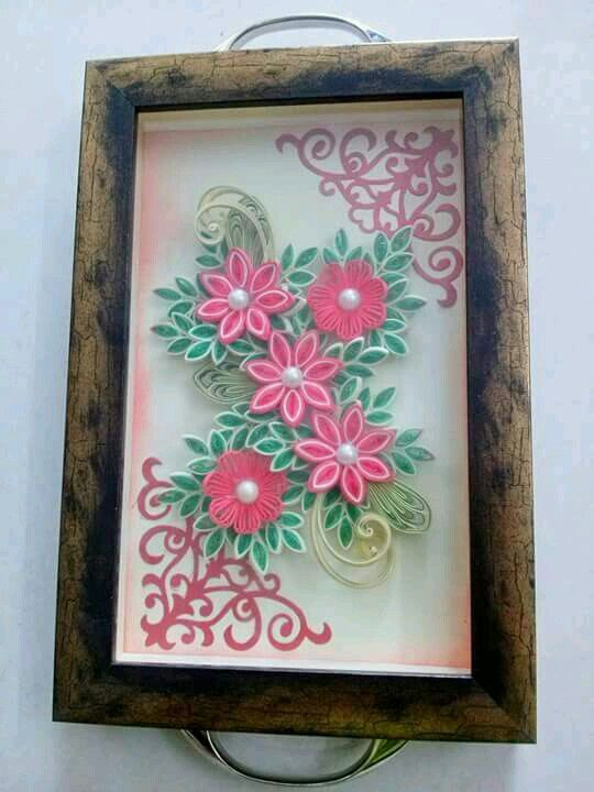 Quilling tray