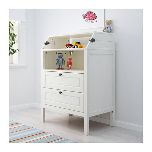 Les 25 meilleures id es concernant commode de table - Commode table a langer bebe kitty blanc ...