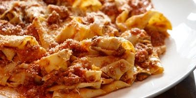 Try this Pappardelle Con Ragu recipe by Chef Eugenio Maiale.