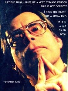 Stephen King readalikes. Stephen King is often called the Master of Horror