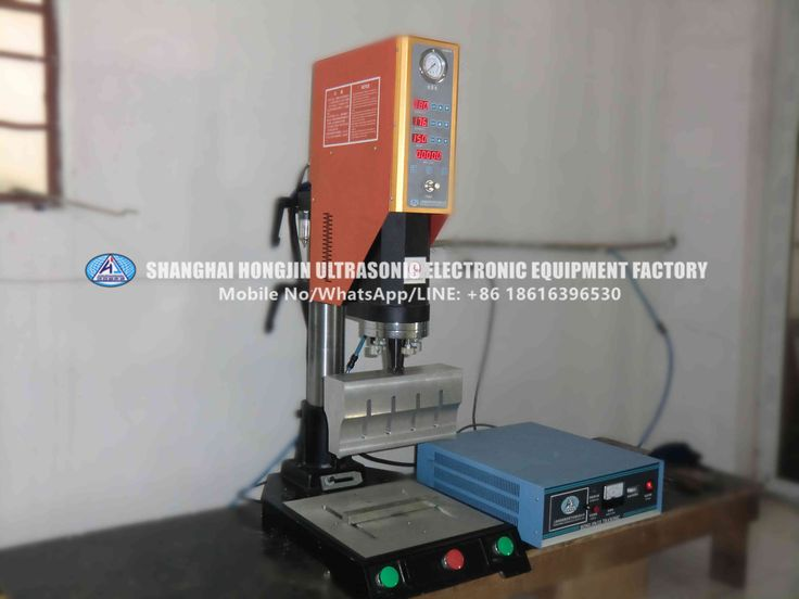 This is the ultrasonic Plastic Welding machine / welder our factory produced for sale. Widely used in toy industroy, electronics, light industry, packing industry, general commercial products, etc.. Check here.