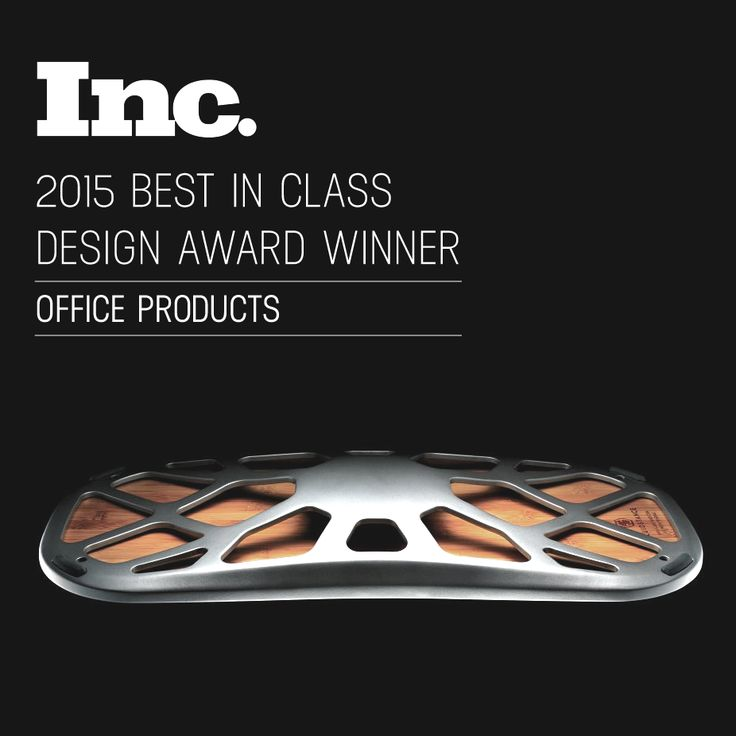 Incredibly honored and excited that our design for @fluidstance has won Best Office Product in the 2015 @incmagazine Design Awards!
