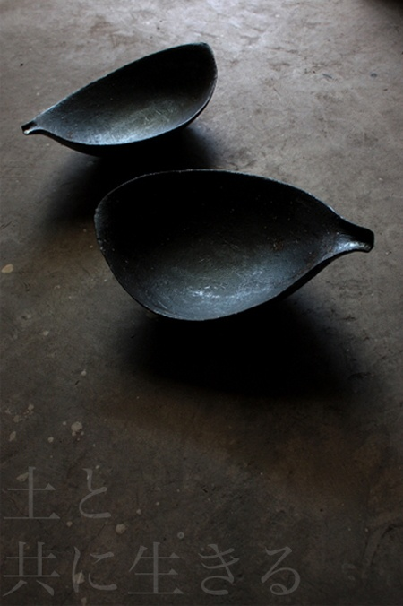 "There is beauty in simplicity. Blog ""Living with the soil"" of towns and villages Katsumi potter"