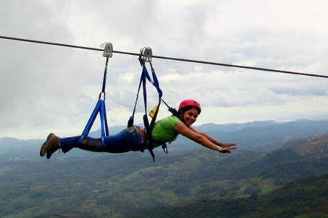 Superman Zipline Course At Adventure Park Costa Rica Ziplining Tours Adventure Park