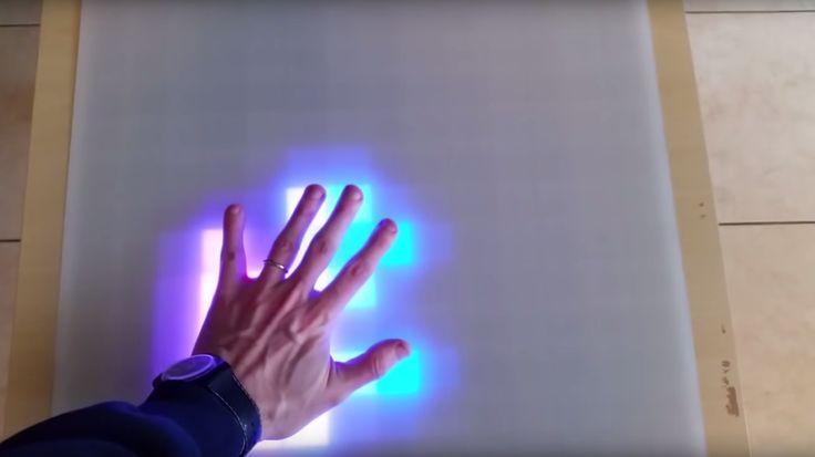Ein paar Meter RGB-LED-Streifen, ein Raspberry Pi und ein bisschen Geduld – fertig ist der interaktive LED-Tisch, der gerade einmal 130 Euro kostet. – Jörn Hartmann