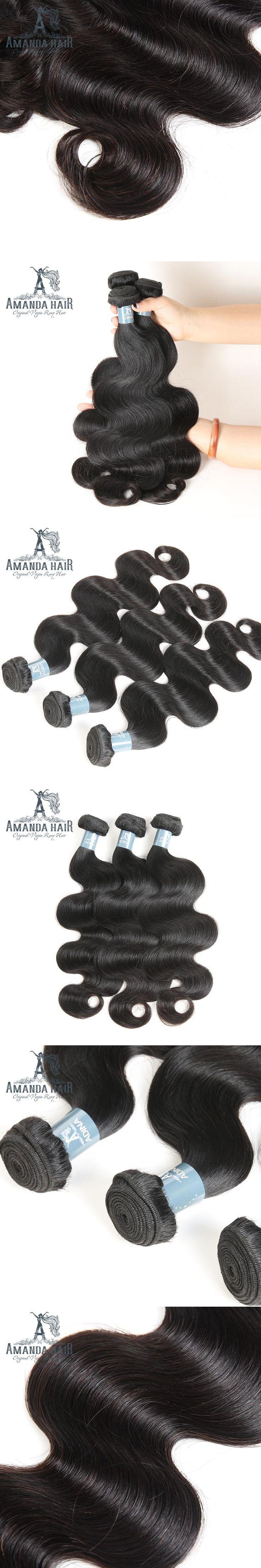 Human Hair Bundles Brazilian Body Wave Hair Weave High Ratio Longest Hair For Salon 10-28 Inch Unprocessed Virgin Hair Extension