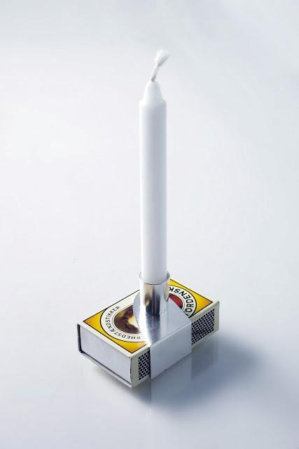 Lone Løvschal. Candle holder. Love it!