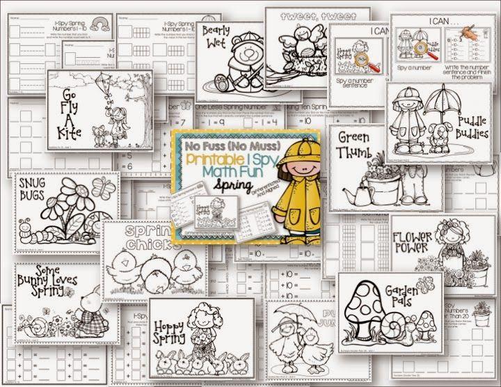 A Differentiated Kindergarten: Differentiated Spring NO Fuss NO Muss!