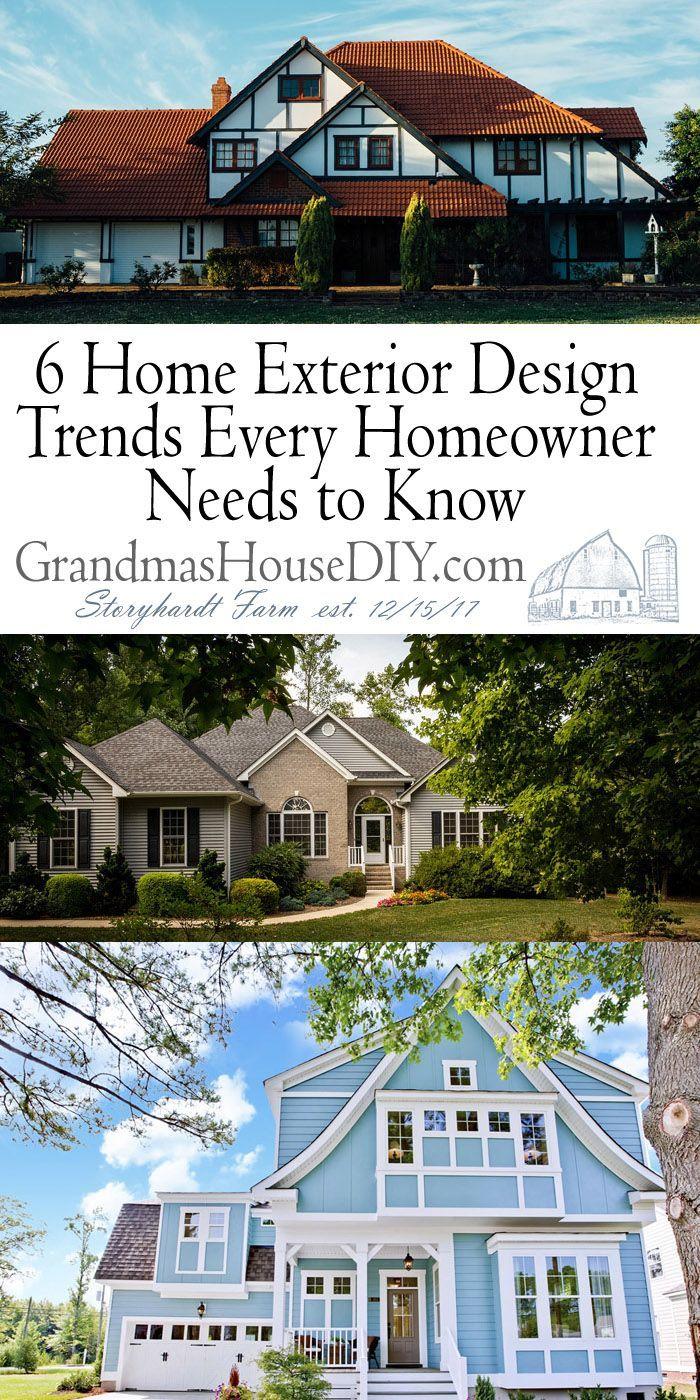 6 Home Exterior Design Trends Every Homeowner Needs To Know House Exterior Exterior Design House Designs Exterior