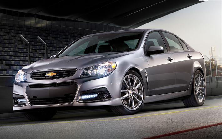 Descargar fondos de pantalla Chevrolet Caprice PPV de 2017, los coches, automóviles, Chevy Caprice, Chevrolet