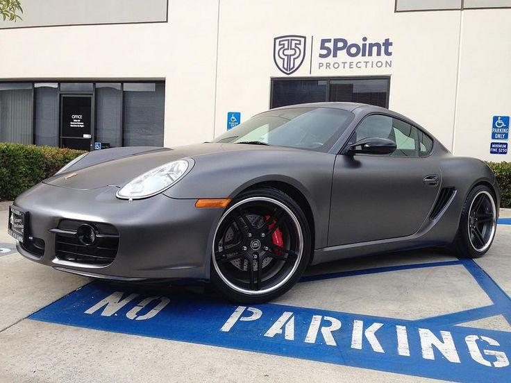 In honor of #tupac birthday we're showcasing a #wrapped #porsche #cayman now wearing #Ceramicpro to make cleanup and maintenance so much easier #ceramicpro #automotive #ceramicprotection #usa