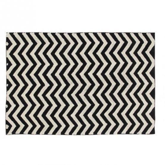 Tappeto lavabile Black & White Zigzag Tappeti lavabili