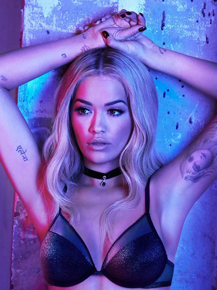 Schicke Dessous zum Valentinstag; Rita Ora in Tezenis