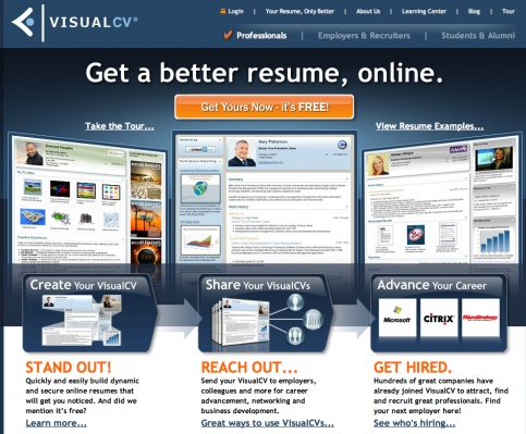 how to build a killer online resume for free