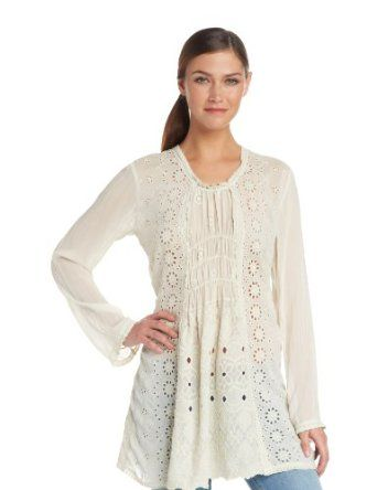 Johnny Was Women's Lacy Tunic