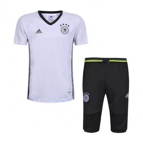 Maillot Training Allemagne Blanc