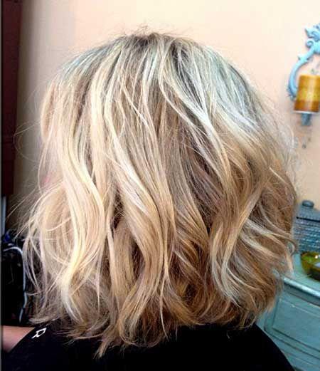 Beachy Waves for Short Hair | http://www.short-haircut.com/beachy-waves-for-short-hair.html