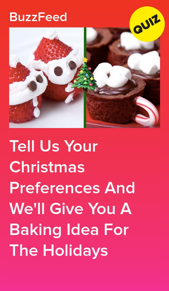Tell Us Your Christmas Preferences And We'll Give You A