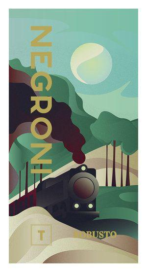 Negroni Poster Robusto