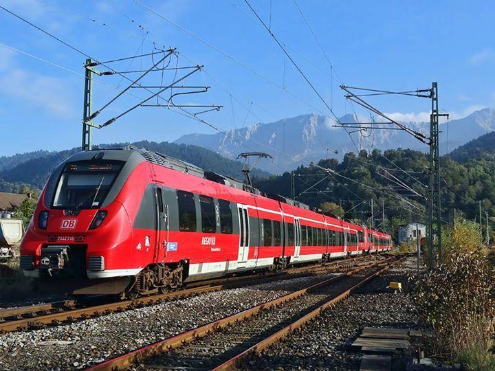 Regiobahn in Garmisch (near Germany/Austria border).
