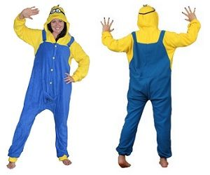 Minion Onesie Would be an awesome Christmas gift! *cough cough* Yes, I, Sassy M, typed that so TAKE THE HINT