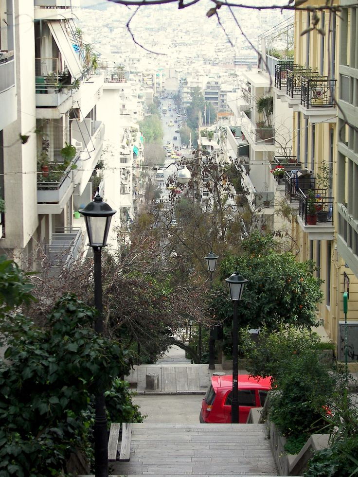 Kolonaki, Athens | Greece. I loved going to college there...