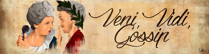 #Header per il blog Veni Vidi Gossip  http://venividigossip.blogspot.it  #blog #photoshop #gossip #illustration