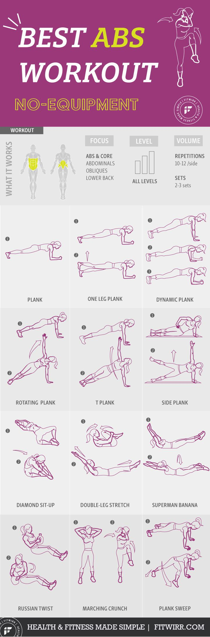 Abs workout for women