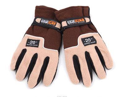 Brand YUETOR winter thickening ski gloves windproof and waterproof luva motoqueiro outdoor mountain sports motorcycle gloves