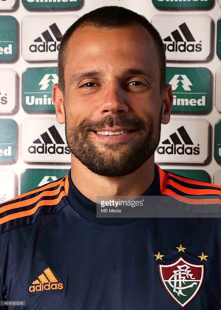 Diego Cavalieri of Fluminense Football Club poses during a portrait session on August 14 in Rio de Janeiro,Brazil.